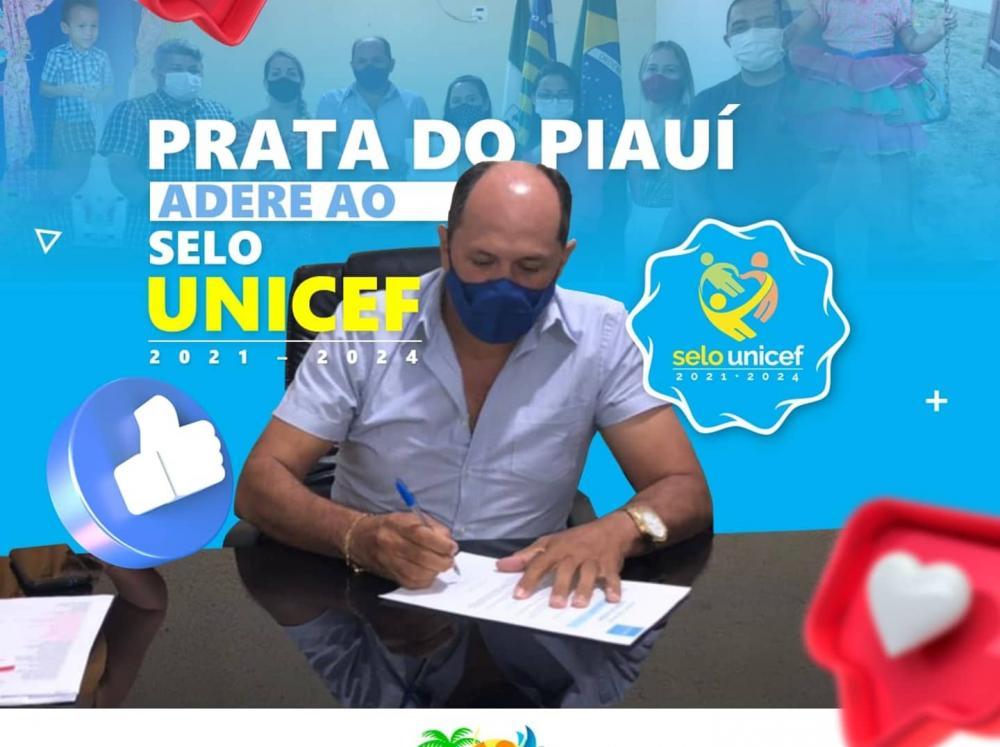 Prefeitura de Prata do Piauí assina termo de adesão ao Selo UNICEF