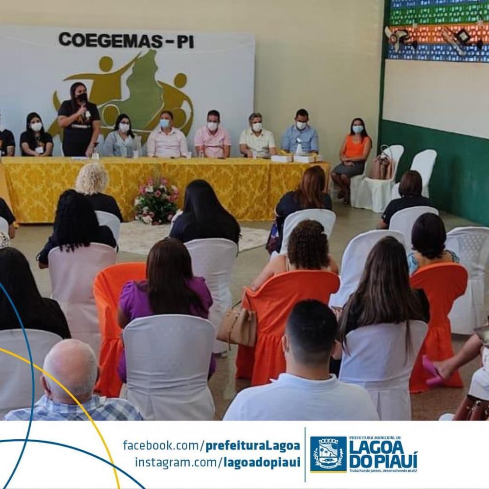 Assistente Social de Lagoa do Piauí do I Encontro do COEGEMAS