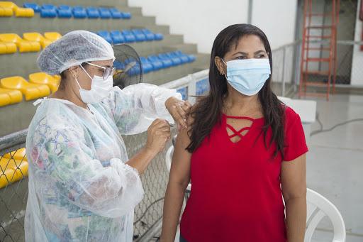 Vacinação em Timon - Ascom