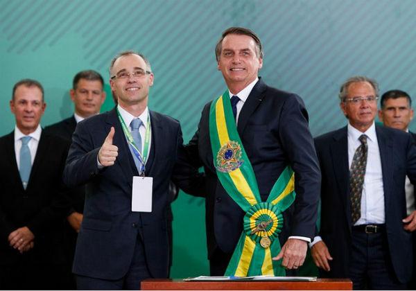 Jair bolsonaro, André Mendonça - AGU