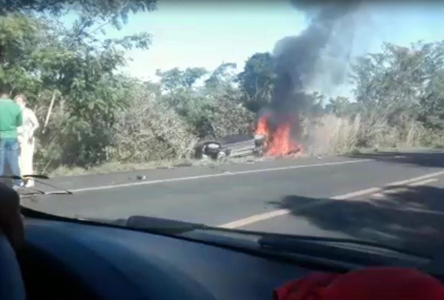 Acidente deixa duas pessoas mortas na BR 316 em Timon