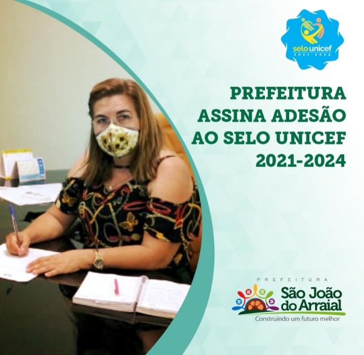 Prefeitura de São João do Arraial adere ao Selo Unicef 2021-2024
