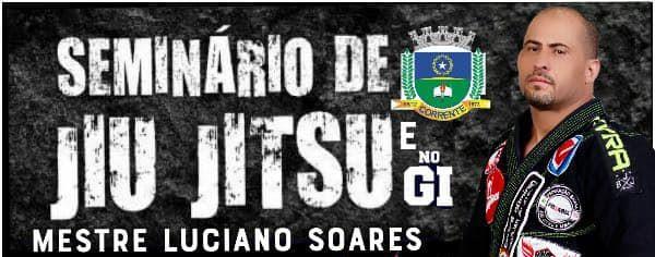 Corrente sedia Seminário de Jiu-Jitsu com o Mestre Luciano Soares
