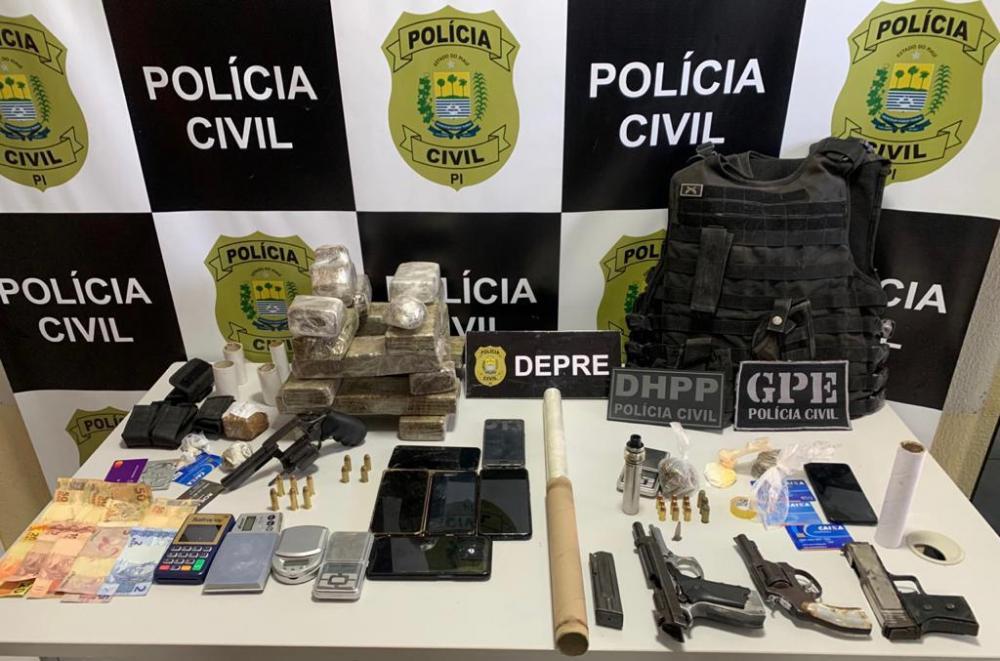 Divulgação Polícia Civil do Piauí