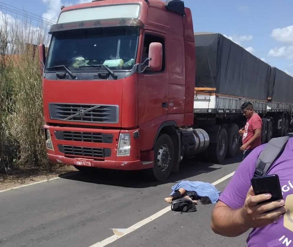 Homem morre em grave acidente na BR-316 em Teresina