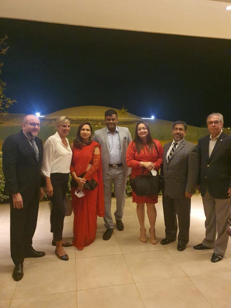 Diplomata Shri S.Koventhan da Índia despede-se do Brasil