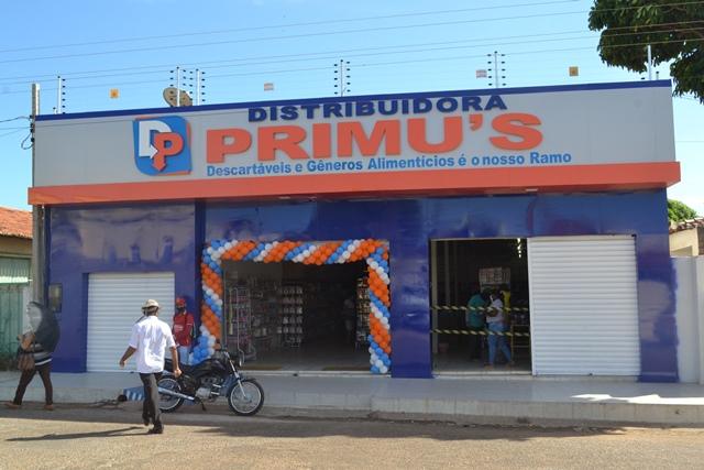 Venha conhecer as novas instalações da Distribuidora Primu's em S. Mendes