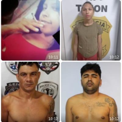 DRH/Timon prende 6 acusados da morte das duas jovens encontradas em cova rasa