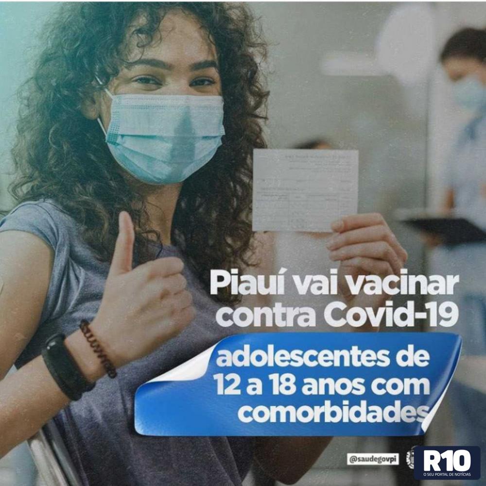 Piauí dá mais um passo a frente referente a vacinação do COVID 19