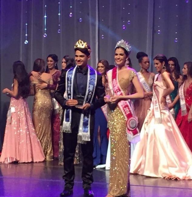 Piauienses são eleitos Miss e Mister Teen Brasil 2017