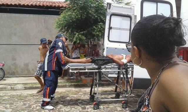 Homem é agredido a tesouradas pela ex-mulher no Piauí