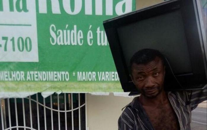 Homem furta TV e defeca dentro de loja no interior do Piauí