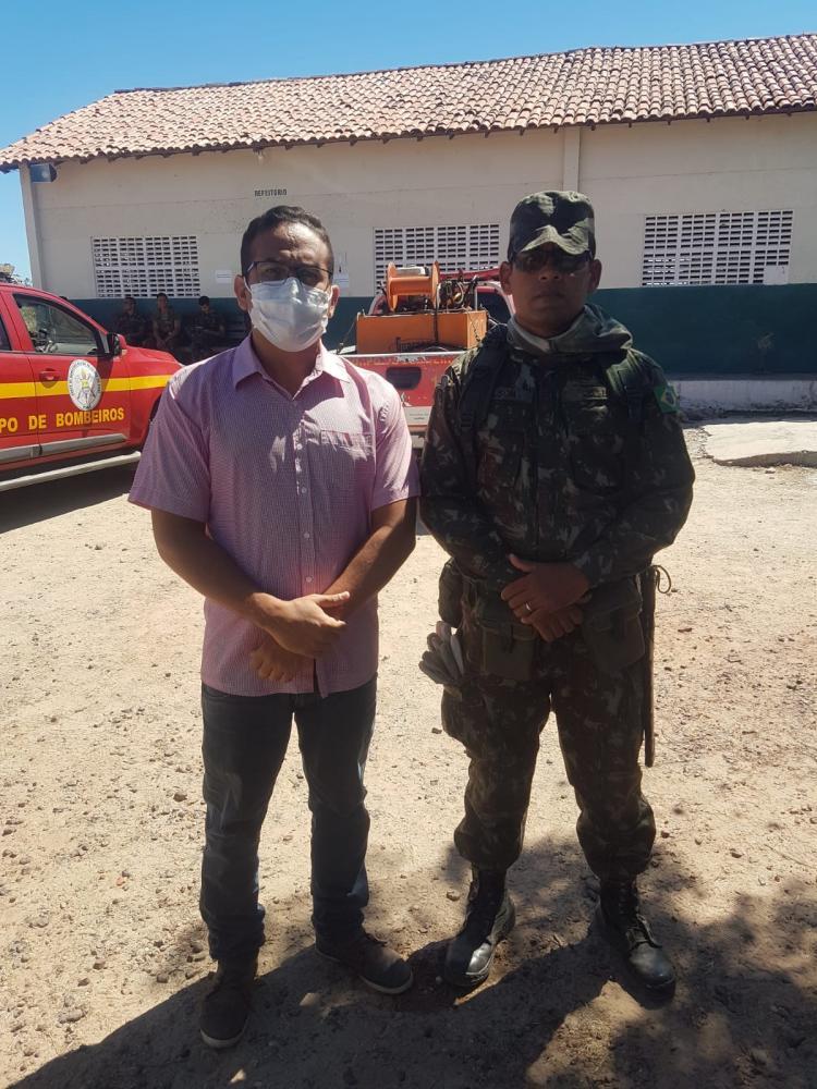 Secretário Participa de Treinamento com Brigada do IBAMA, veja