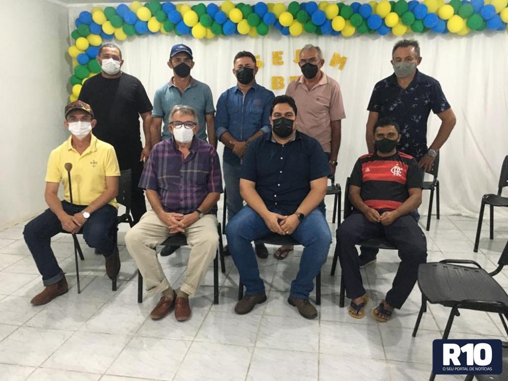 Integrantes do Sindicato Rural de Fronteiras – SRF