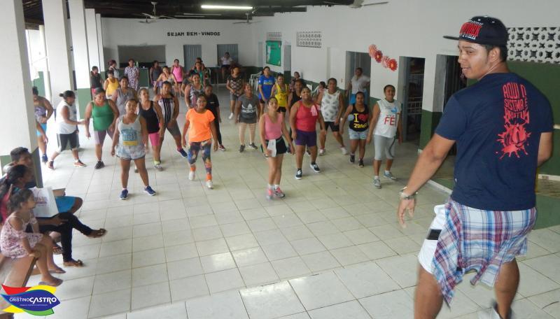 Assistência Social:  Aulas de ZUMBA promete agitar  o Centro de Convivência de Cristino Castro