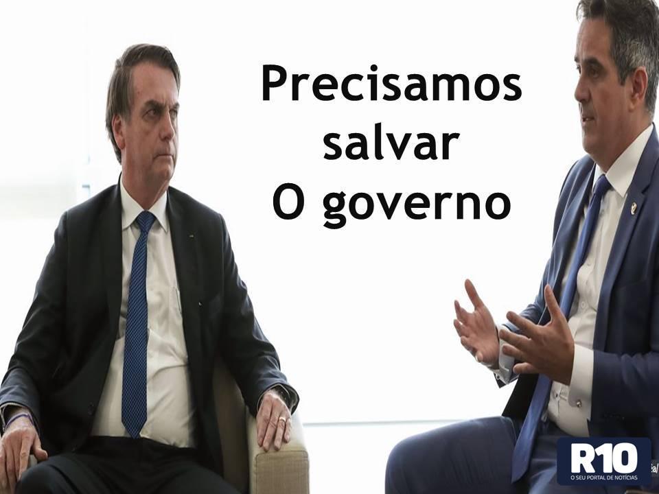 Sen. Ciro Nogueira Pi é o novo ministro da Casa Civil; preciso salvar o governo