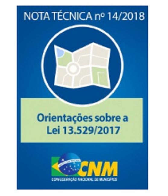 Nota técnica da CNM trata da nova legislação de PPPs que permite apoio técnico aos Municípios