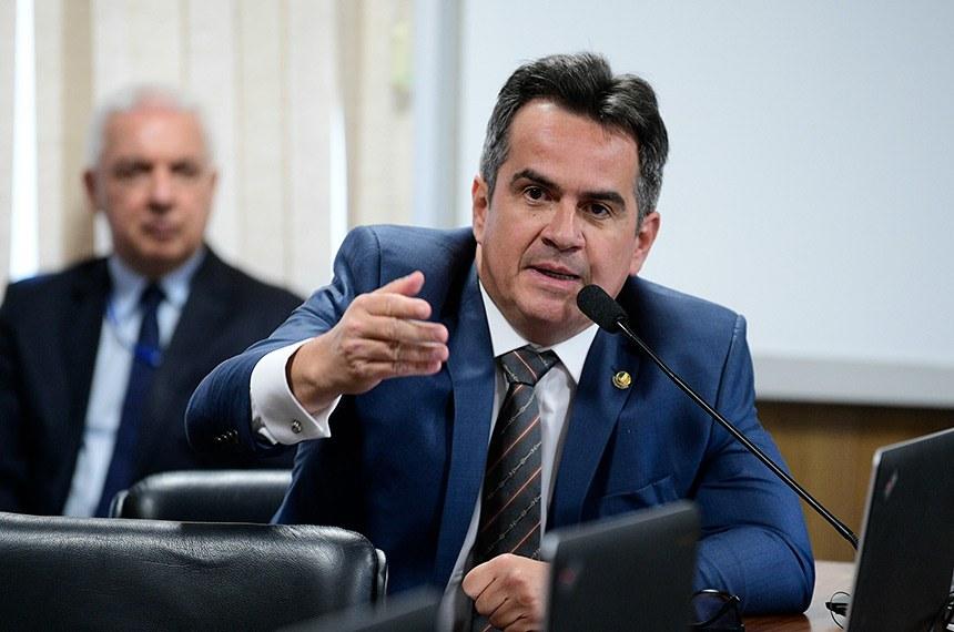 Nas redes sociais, Ciro informou que aceitou o convite feito pelo presidente Bolsonaro, após reunião no Palácio do Planalto Pedro França/Agência Senado Fonte: Agência Senado