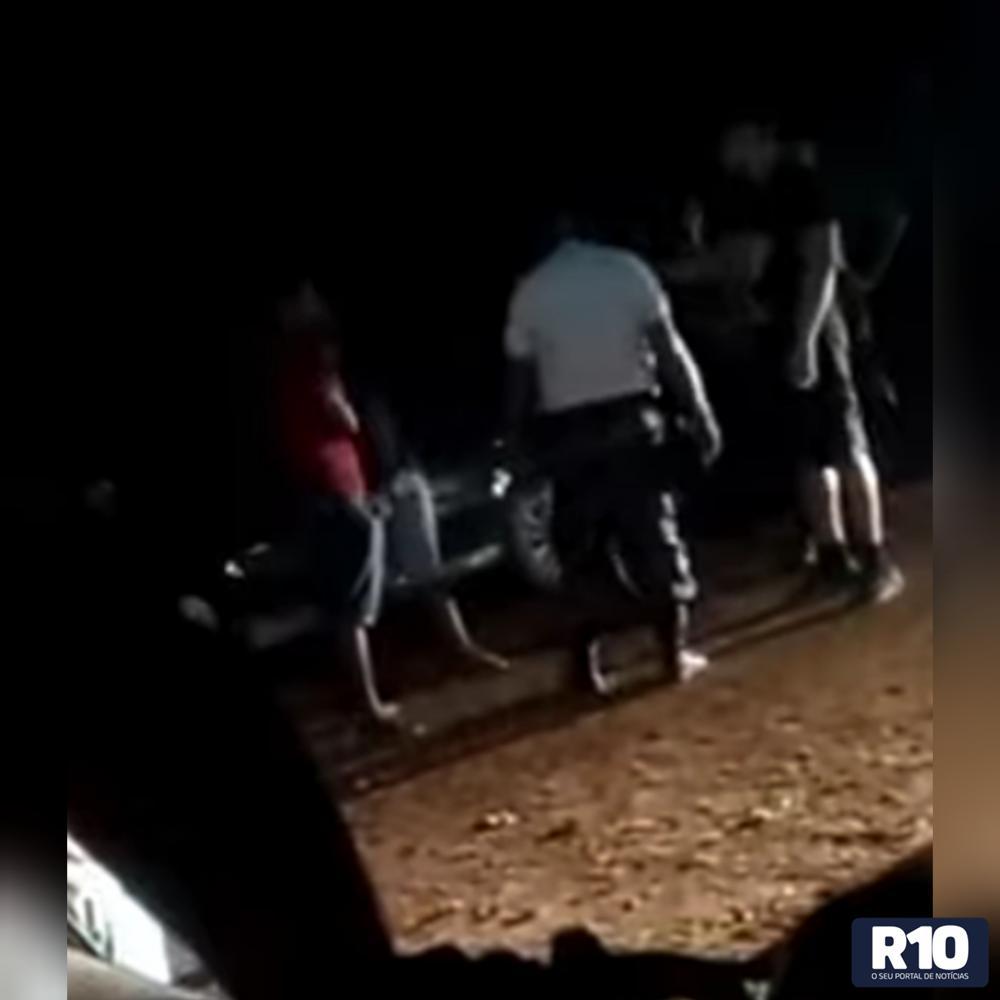 MCT/ Vereador e polícia militar se desentendem duranta honda policial