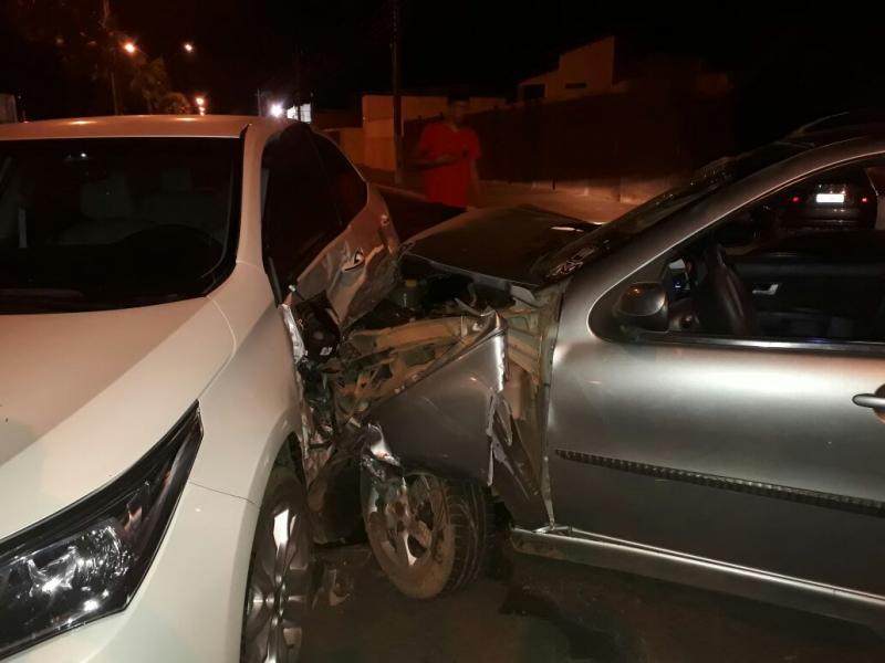 Colisão entre dois veículos deixa duas pessoas feridas em Campo Maior