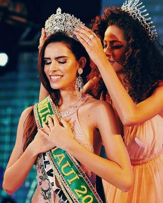 Piripiriense Naiely Lima é eleita Miss Piauí 2018