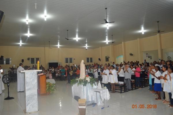 Festejo de Nossa Senhora de Fátima em Colônia do Gurgueia iniciou nesse primeiro dia de maio
