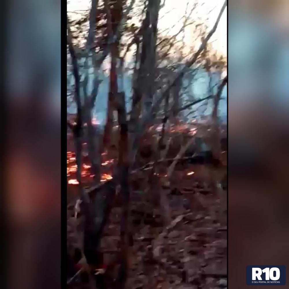 Morro C no Tempo, são mais de 15 dias de queimadas destruindo a caatinga
