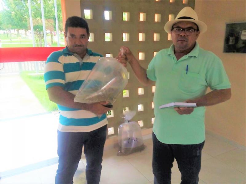 Secretaria de Agricultura realiza a segunda entrega de alevinos para os pequenos piscicultores