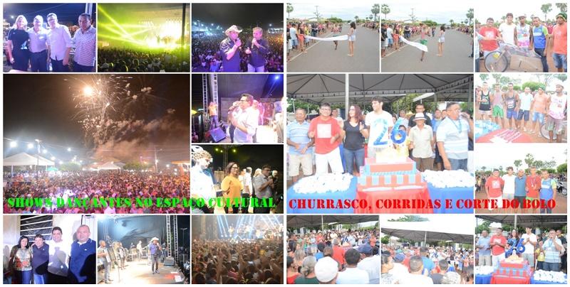 Confira outras atividades comemorativas que também marcaram o aniversário da cidade de Cabeceiras