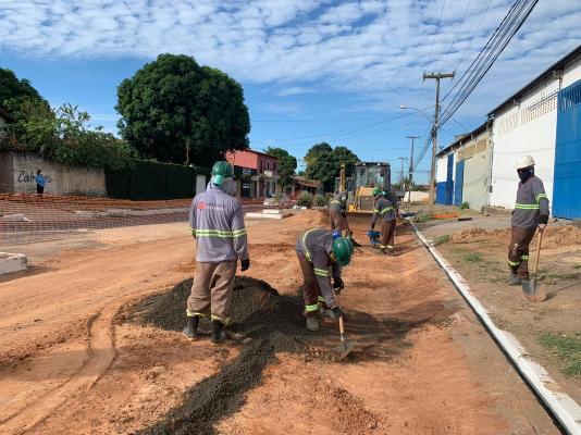 Cerca de 8 mil metros de rede de esgoto já foram implantados em Timon