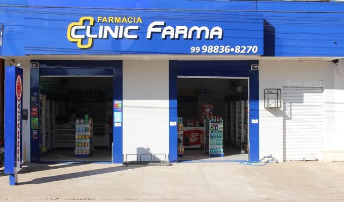 Super Promoção de novo endereço da Farmácia 'Clinic Farma'