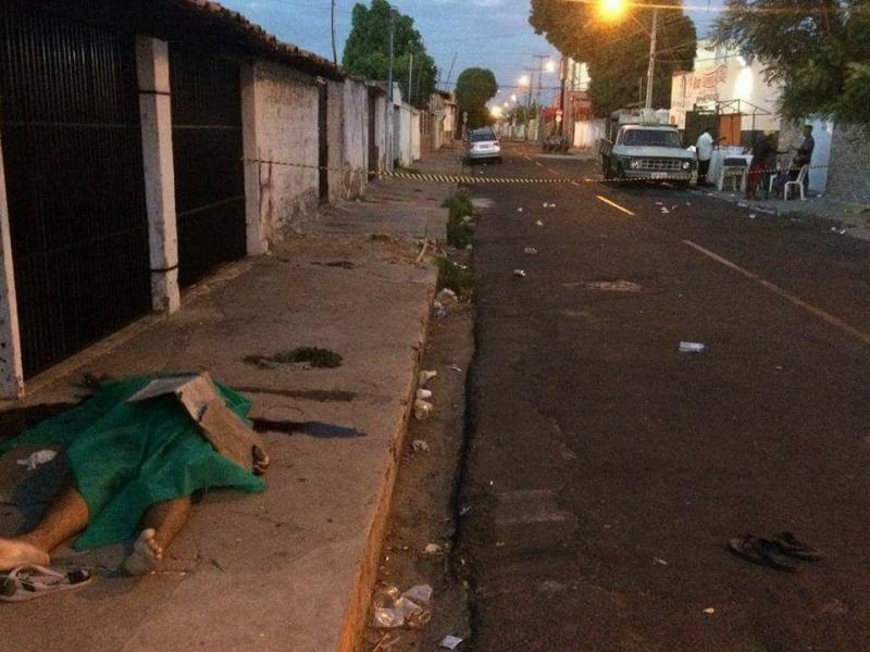 Funcionário público é executado a tiros ao sair de bar em Teresina