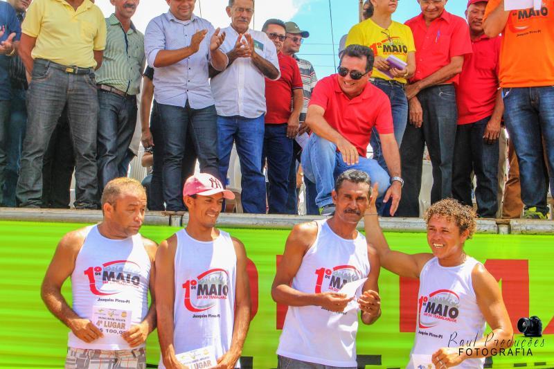 Prefeitura de Joaquim Pires realiza Festa do Trabalhador e inaugura academia popular