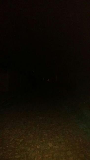 Parte da cidade de São Gonçalo do Gurguea está às escuras