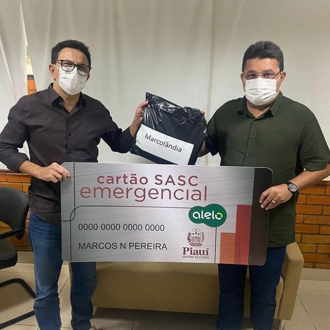Famílias de Marcolândia serão beneficiadas com o Cartão Sasc Emergencial