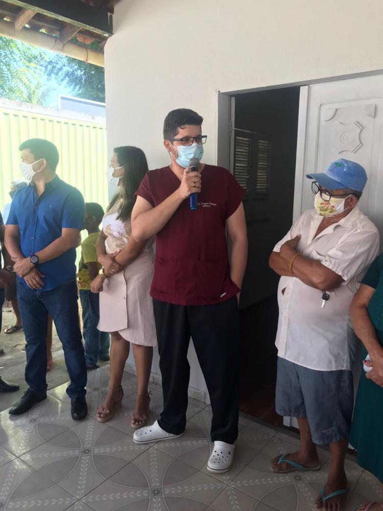 Unidade Básica de Saúde é entregue no Bairro Santa Teresinha em Cocal