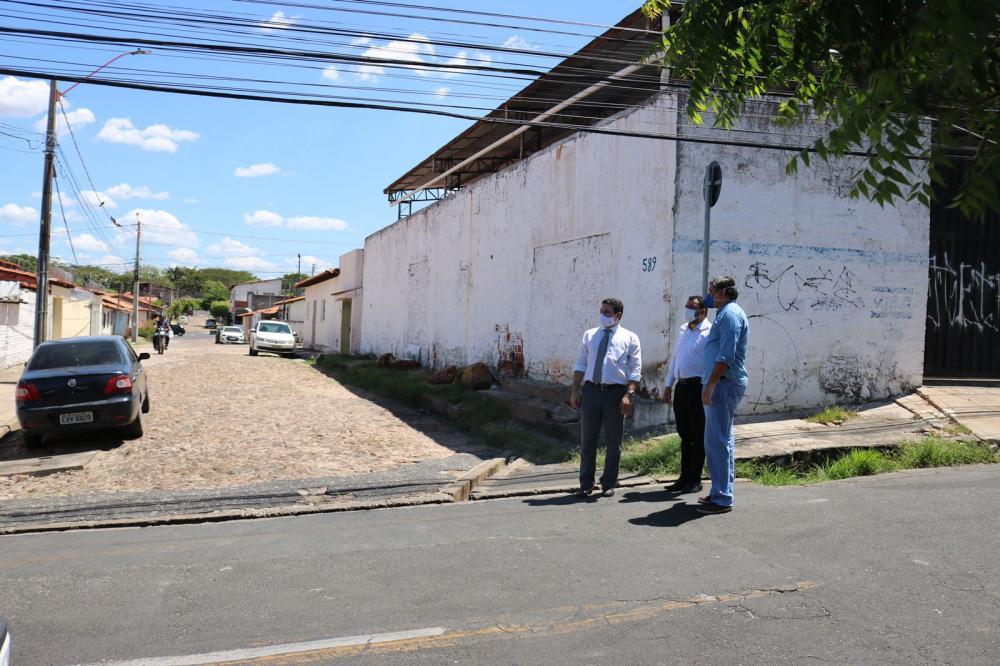 A pedido da OAB Piauí, ruas no entorno da OAB Piauí serão pavimentadas