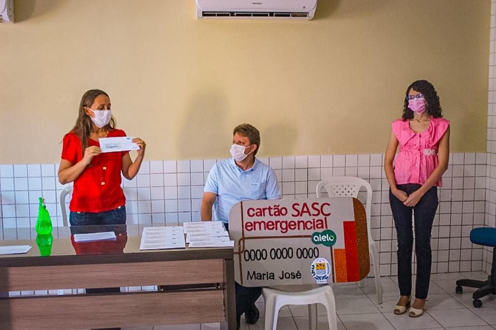Famílias de Sta Cruz dos Milagres serão assistidas pelo programa SASC Emergencial