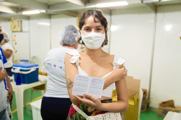 Timon imunizou mais de 4.000 jovens só nesta segunda-feira (23)