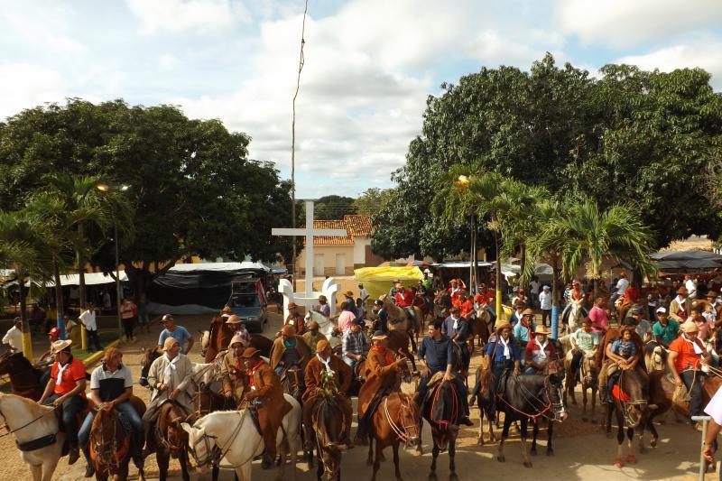 Comemoração ao dia municipal do vaqueiro em Landri Sales