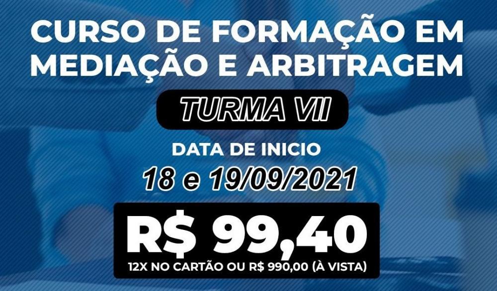 Inscrições abertas para o Curso de Formação em Mediação e Arbitragem da OAB Piauí