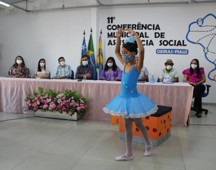 Zé Santana participa de 11° Conferência Municipal de Assistência Social de Oeiras