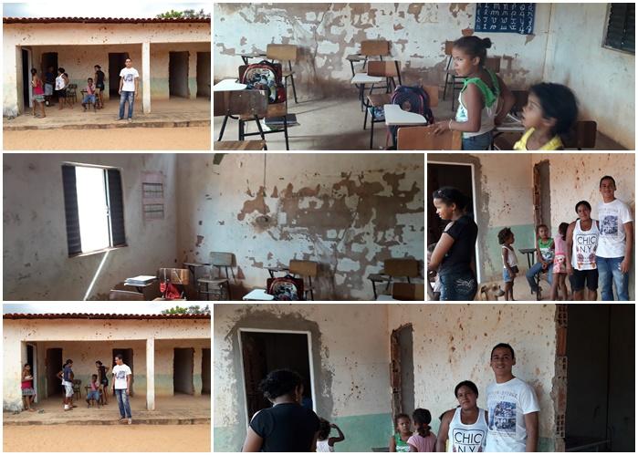 Vereador Henrique guerra solicita melhorias na estrutura de escola da Zona Rural