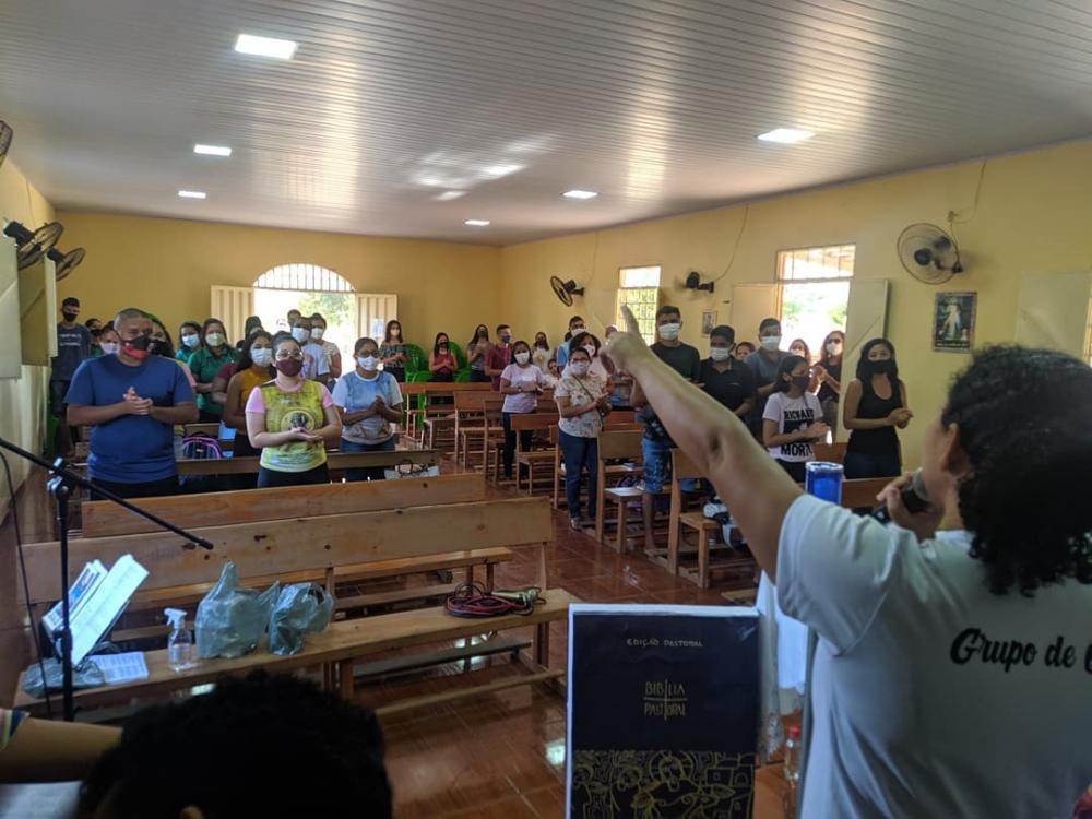 Paróquia realiza missão popular evangelizadora com catequizandos