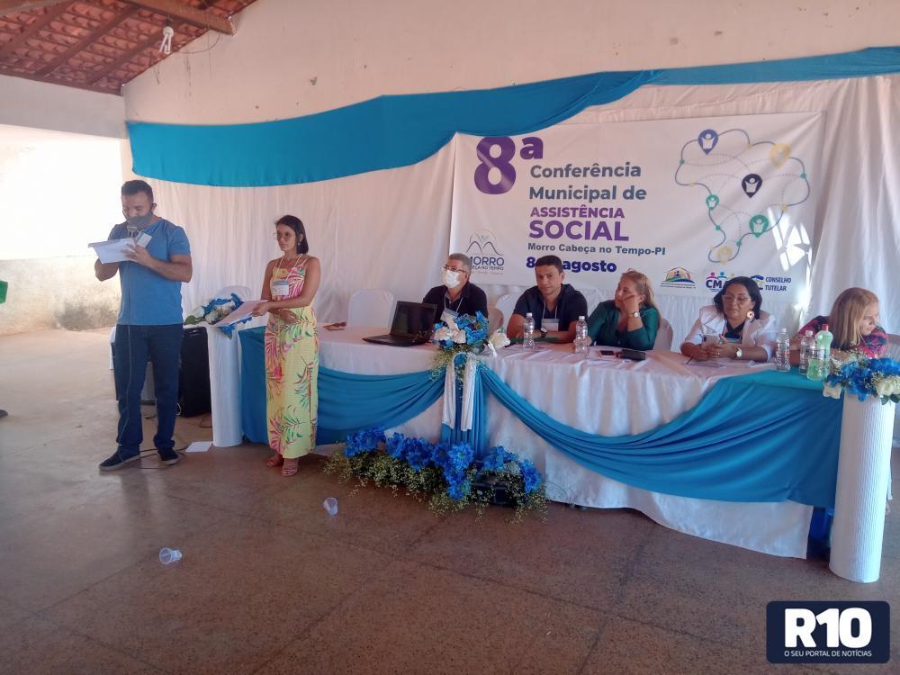 VIII Conferência Municipal de Assistência Social de Morro C no Tempo, Piauí