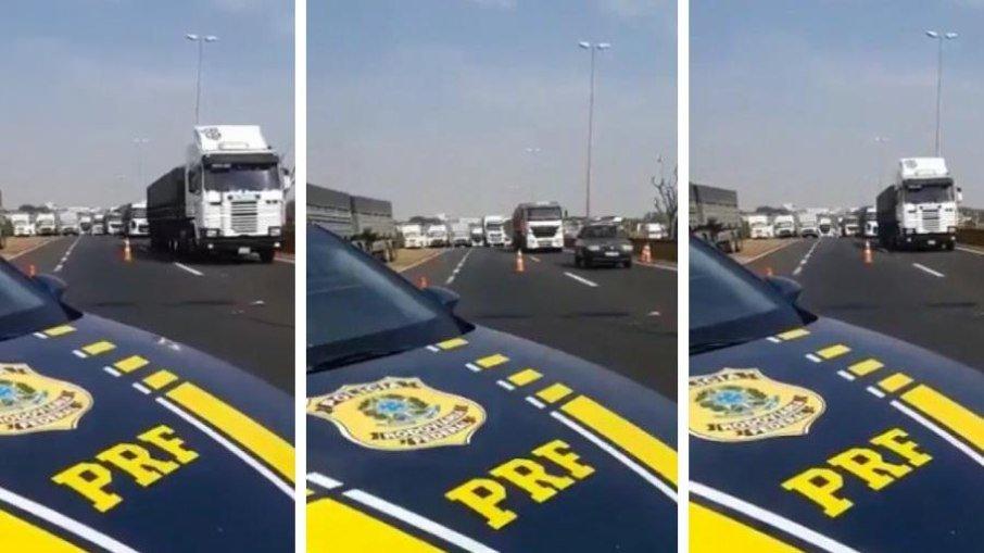 Greve dos caminhoneiros: PRF libera 12 rodovias; veja a lista