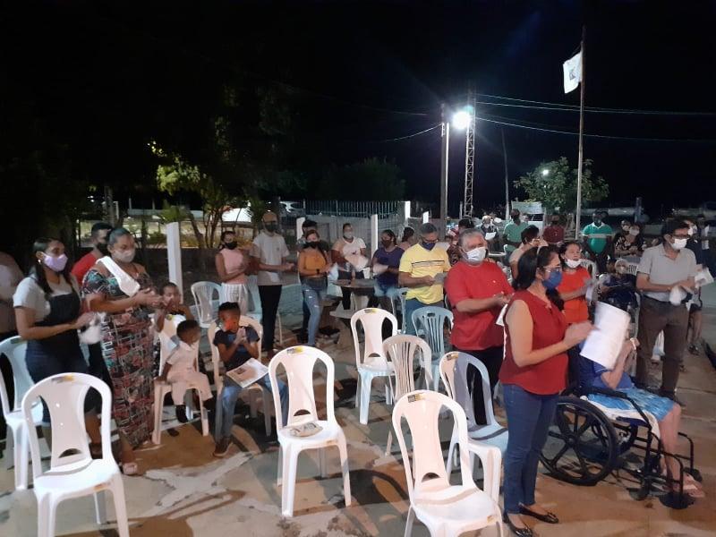 Comunidade rural inicia suas festividades religiosas