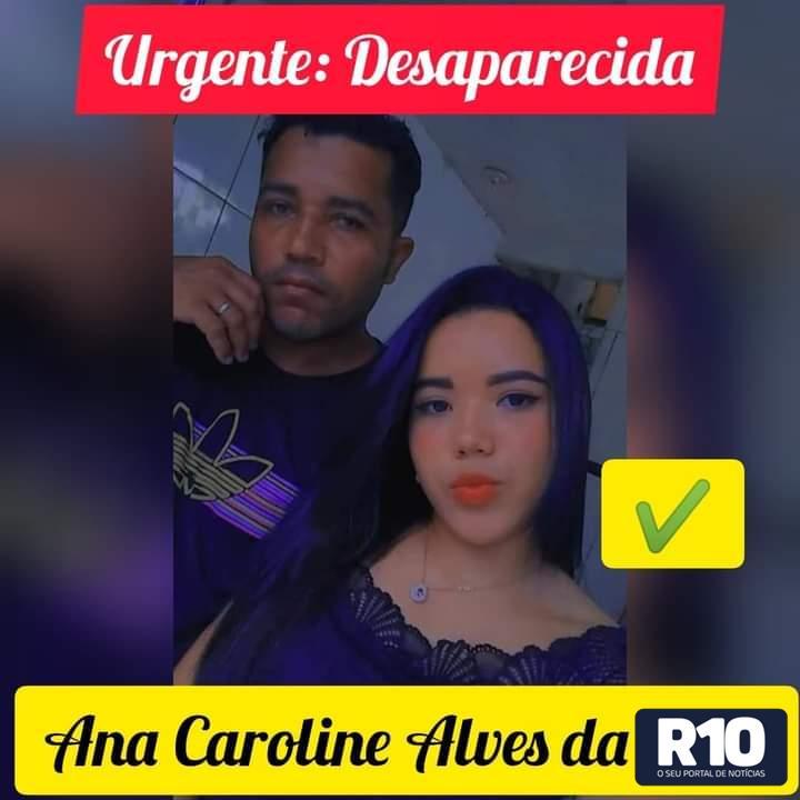 Família em desespero procura filha menor desparecida neste dia 11/09/2021