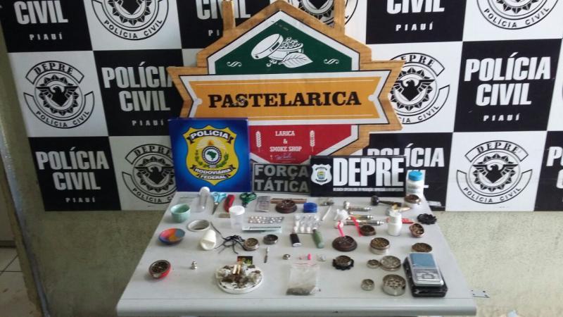 Advogado e DJ's são presos com drogas em festival de música eletrônica em Teresina