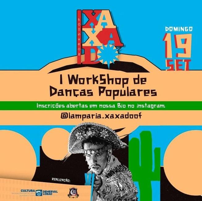 Secretaria de Cultura promove I Workshop de Danças Populares em Demerval Lobão